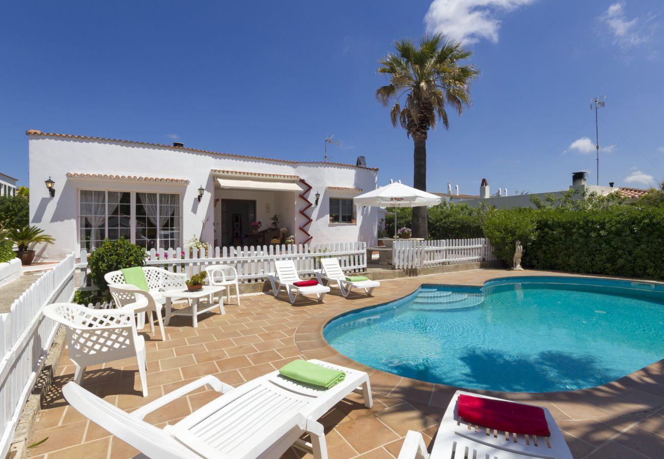 Villa in Cala Blanca - Menorca Joel