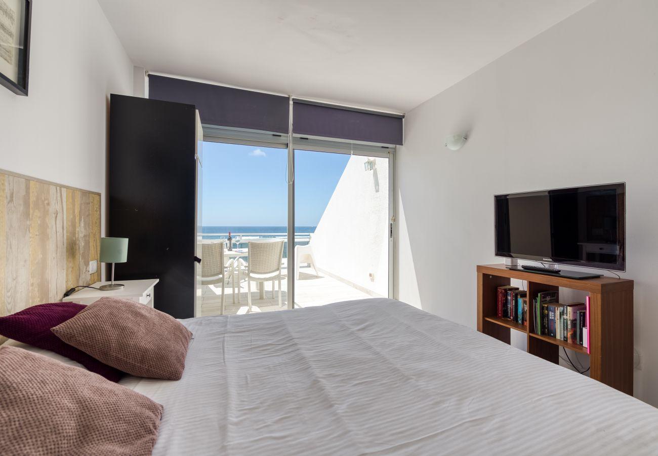 Apartment in Las Palmas de Gran Canaria - Great terrace sea views+Wifi By Canariasgetaway