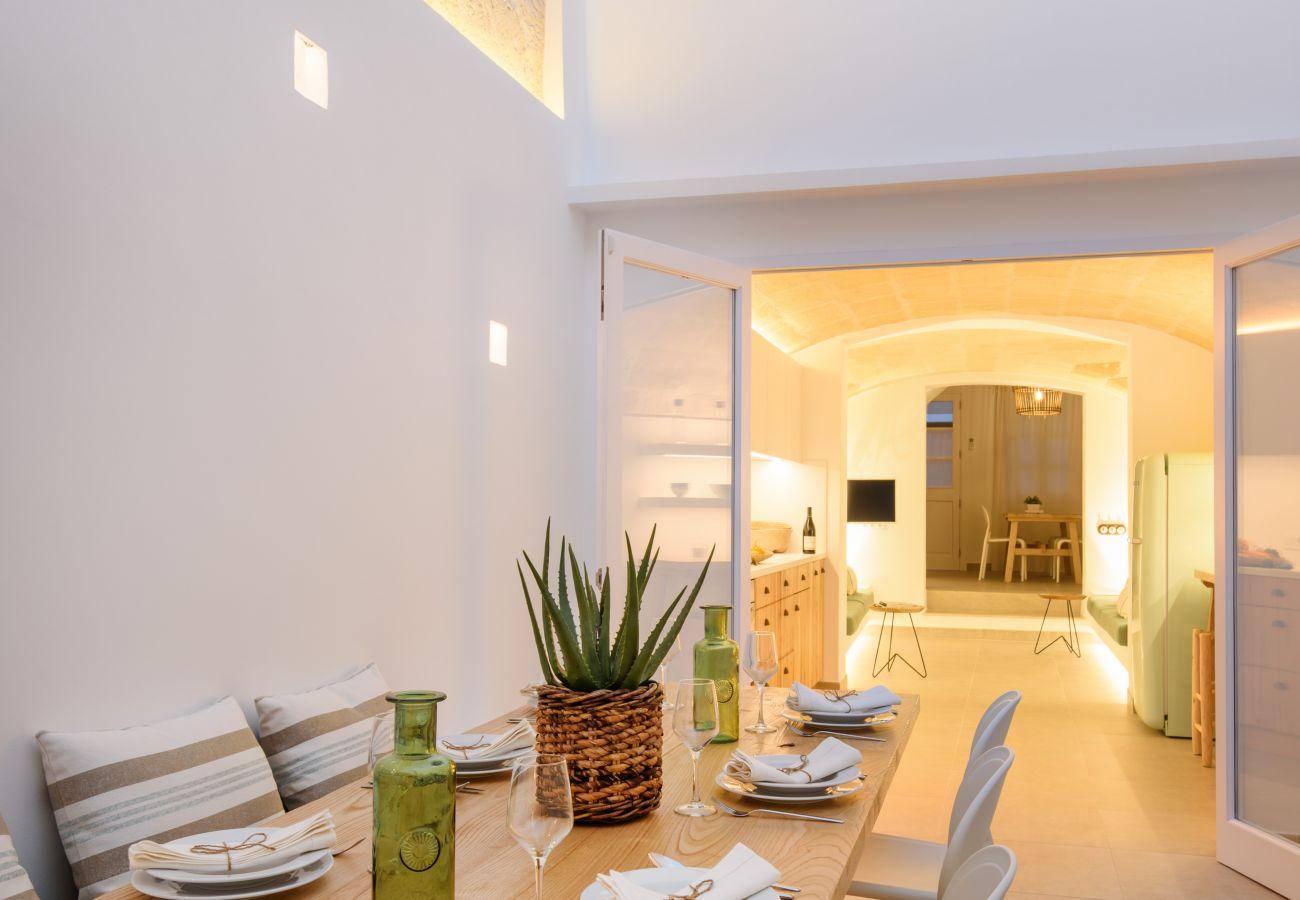Interior of Casa Sa Font in Ciutadella de Menorca