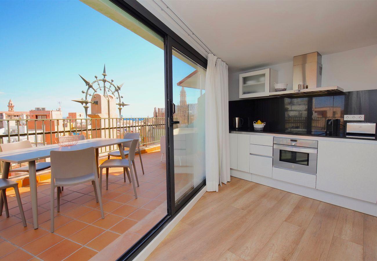 Apartment in Palma de Mallorca - L´Aguila Suites Penthouse