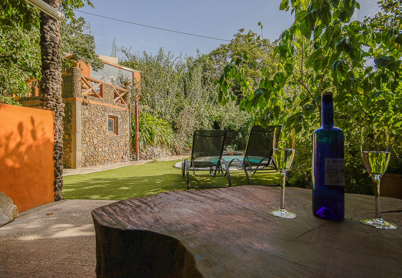 Cottage in Valleseco - Casa Los Matos pool&jacuzzi by CanariasGetaway