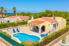 Villa in Cap d´Artruix - Menorca Luna